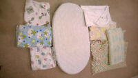 Baby Blankets & Cushioned Change Pad