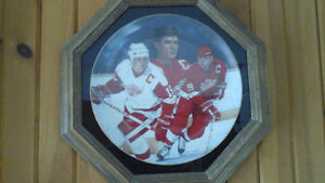 Steve Yzerman limited collector Plate - Great Christmas gift