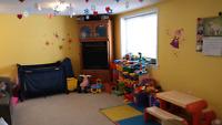 Daycare in Hespeler has 2 full time openings