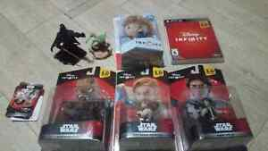 Disney infinity PS3 Star Wars Saga Bundle + 6 addition character