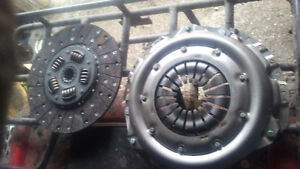 Clutch and pressure plate for 7.3L diesel