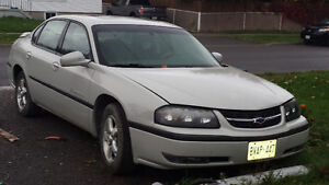 Impala Low kms  Parting out if not sold soon.