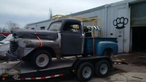 1948-1952 ford f1 f100 chassis only for sale