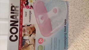 Conair massaging foot spa