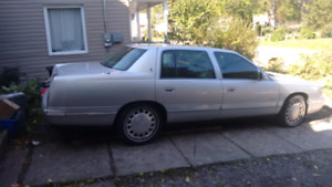 REDUCED1 999 Caddy Deville  ,900 cash  TRADES4 2dr RWD  WELOME