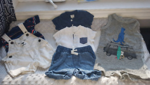 Baby Boy Summer Clothes Lot