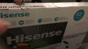 "Hisense 65"" 4K smart ULED Tv. H9 plus series ( brand new)"