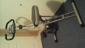 Bicyclette Exerpeutic 1200 fol ding Magnétique Upright Bike with