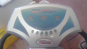 t zone vibration calorie burn threadmill