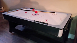 Table de billard réversible en hockey sur air