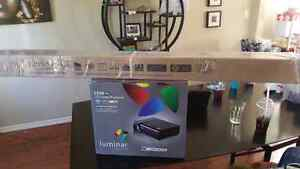 LED smart projector and 72inch screen