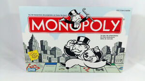 Classic Monopoly Board Game All Pieces Included Buy Sell Hotel