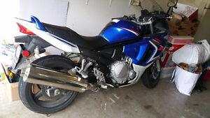 2009 suzuki GSX 650 F