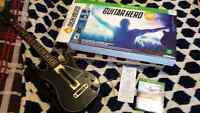 Guitar hero practically brand new with box and recipet