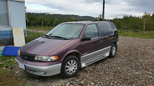1998 Nissan Quest Minivan, Runs Perect! Best offer takes it!