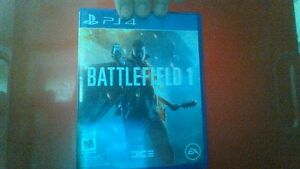 Ps4 games, BF1 and AC Syndacate