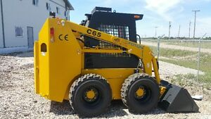 SKID STEER 60 HP, TIER 3 WITH 2 YR WARRANTY