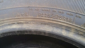 Brand New Goodyear M&S Tires
