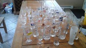 Plusieurs verre de bières