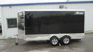 2016 Triton CT-147R - Aluminum Enclosed Cargo Trailer