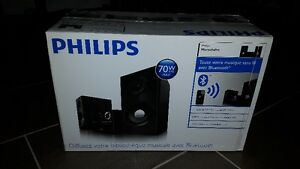 New Philips Bluetooth Micro Music System / Minichaîne Radio