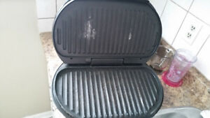 Flat top And Gorge foreman Grill.