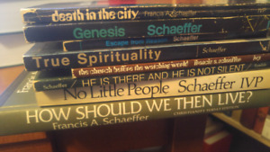 Francis Schaeffer collection - 8 volumes