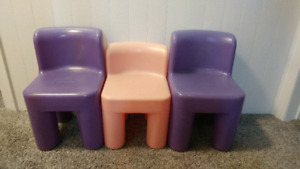Little Tikes Toddler Chairs (3)