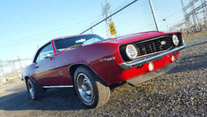 1969 CHEVY CAMARO SS QUALITY CLASSIC MUSCLE CAR