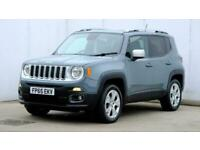 2015 Jeep Renegade 2.0 Multijet Limited 5dr 4WD FourByFour diesel Manual