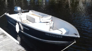 Princecraft 14 Ft Fisherman with Trailer and 15 HP Yamaha Motor