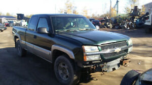 Junking 2003 chev 4x4 CALLS ONLY