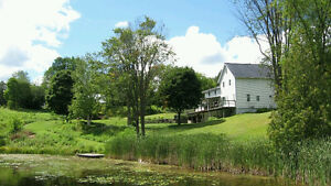 Maintained home on 17 acres with a private flowing pond! Kawartha Lakes Peterborough Area image 2