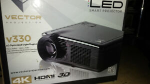 Vector 330 LED multimedia projector.