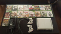 XBOX 360 60GB + 17 GAMES +. NEED TO SELL ASAP. BEST OFFER