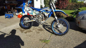 2009 Husaberg fe570 Street legal