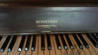 Mid 1920's Devonshire Upright Piano