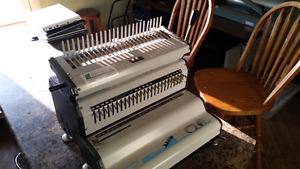 Akiles Comb Mac-24E Electric Comb Binding Machine
