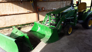 New John Deere Tractor H120 with 1023E Loader