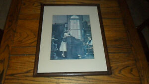 Vintage norman rockwell print