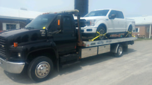FLATBED TOW TRUCK SERVICE