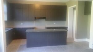 Full Kitchen Cabinets, Counter Top, Iceland, Sink, Faucet, Fan