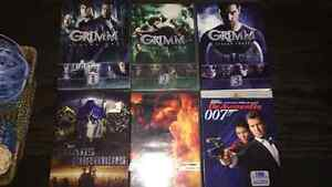 Grimm seasons and other DVDs