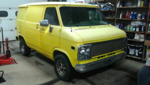Chevy shorty van
