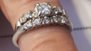 Platinum & Diamond Wedding Set