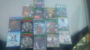 New 13 Xbox one games and 2 ps4 games cheap.