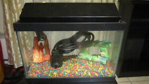 2 gal aquarium/fish tank fully equipped with stand