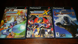 Two PS2 MegaMan X games for sale!