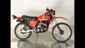 1983 Kawasaki ke125 for sale for parts or repair.