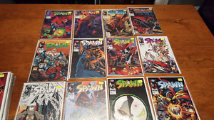 SPAWN comic collection